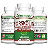 Premium Forskolin For Weight Loss 500mg Daily- Pure Forskolin Extract For Weight Loss - Coleus Forskohlii Standardized 20% - Forskolin Belly Buster - Weight Loss Supplements & Products For Women & Men