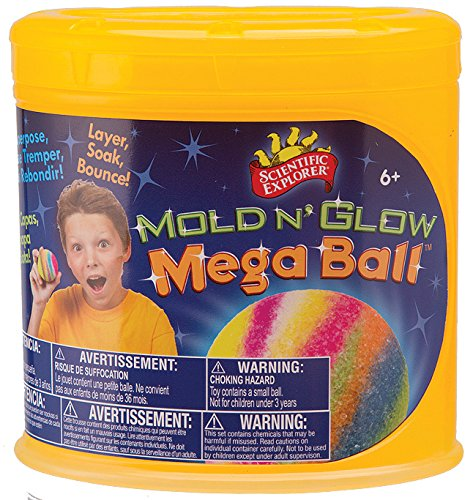 Scientific Explorer Mold n' Glow Mega Ball