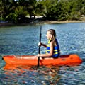 90477 Durable Green Lifetime Youth Wave Kayak with Paddle