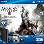 PS3 500GB Assassin's Creed III Bundle