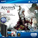 PS3 500GB Assassin's Creed III Game