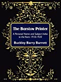 img - for The Barstow Printer: A Personal Name and Subject Index to the Years 1910-1920 book / textbook / text book