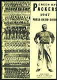 1947 Green Bay Packers Media Guide Repro - NFL Football Reproduction at Amazon.com