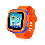 Kids Smart Watch,Educational Game Watch for Kids Girls Boys, Learning Toys 3-10 Years Old Holiday Birthday Gifts (Orange) (Color: orange)
