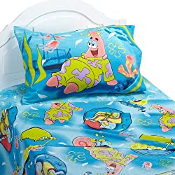 SpongeBob Squarepants Pajama Party Full Sheet Set