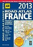 AA Road Atlas France 2013