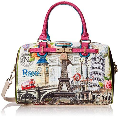 nicole-lee-nicole-lee-europe-print-boston-shoulder-bag-europe-one-size