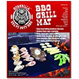 Gorgrilla(TM) BBQ Grill Mat - Set of 2 - As Seen on Tv - Reduce Mess and Clean Up Time - Protect Your Barbecue Grill - Stop Flare-ups and Burning of Your Food - Make Grilling Easy - A Miracle for Any Barbecue - FDA Compliant - Heavy Duty, Durable, Reusable - Over 35% Thicker Than Cheap BBQ Grill Mats - Non Stick, Easy Clean - PFOA Free - The Best BBQ Grilling Mats for any Gas, Electric and Charcoal BBQ Grill, Even Smokers - Best BBQ Tools on the Market - 2 Mats Per Pack - Makes Grilling Easy and Effortless, Non-stick and Ez Clean - Perfect for Outdoor Bar B Que or Can Even Be Used As an Oven Liner & Baking Mat
