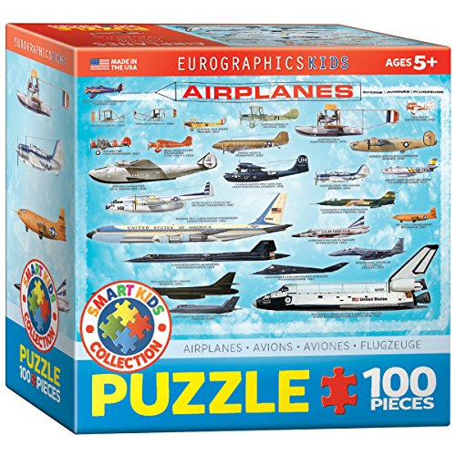 EuroGraphics Airplanes 100 Piece Puzzle (Small Box) Puzzle