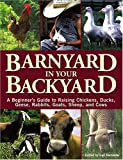 cover of Barnyard in Your Backyard: A Beginner's Guide to Raising Chickens, Ducks, Geese, Rabbits, Goats, Sheep, and Cows