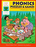 img - for Phonics Puzzles & Games: A Workbook for Ages 4-6 (Gifted & Talented) book / textbook / text book