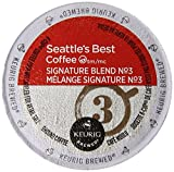 Seattle's Best Coffee K-Cup, Signature Blend No 3,...