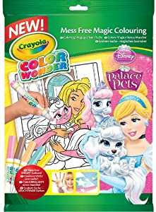 Crayola Color Wonder - 75-1919-E-000 - Livre À Colorier - Kit Princess Palace Pets Disney
