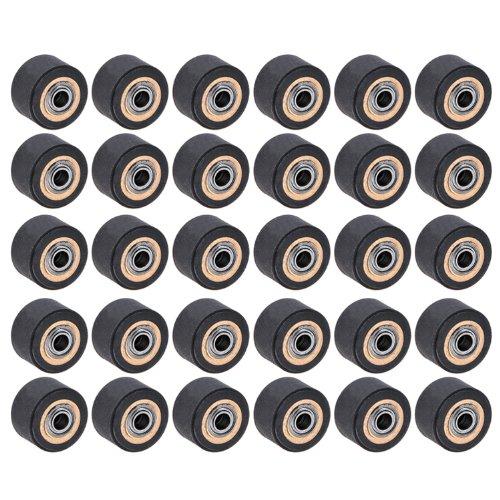 30Pcs Pinch Roller For Roland Vinyl Cutting Plotter Cutter (4Mm X 11Mm X 16Mm) front-169900