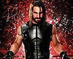 SETH ROLLINS WWE-Royal, 10 x 8, hochw...