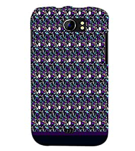PrintDhaba Pattern D-1832 Back Case Cover for MICROMAX A110Q CANVAS 2 PLUS (Multi-Coloured)