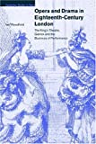 img - for Opera and Drama in Eighteenth-Century London: The King's Theatre, Garrick and the Business of Performance (Cambridge Studies in Opera) book / textbook / text book