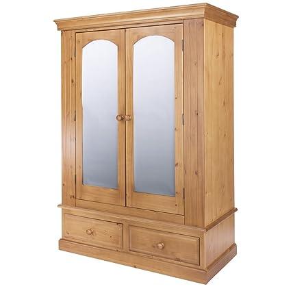 2 door, 2 drawer wardrobe Width : 1270mm
