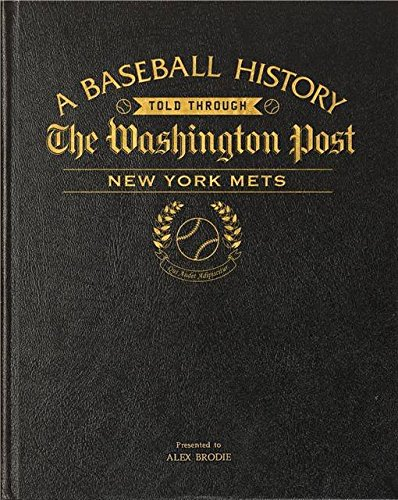personalizzato-washington-post-new-york-mets-baseball-libro-in-pelle