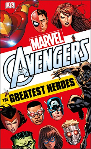 Marvel Avengers: The Greatest Heroes [Dougall, Alastair] (Tapa Blanda)