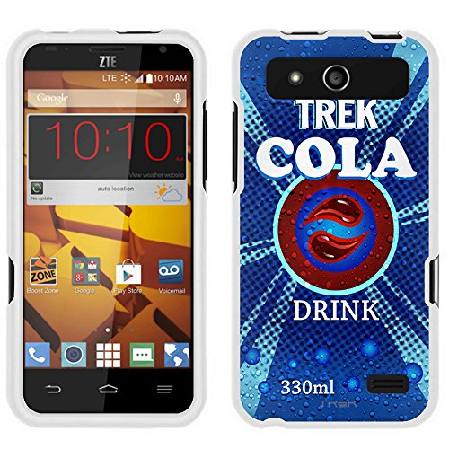 ZTE Speed Case, Snap On Cover by Trek Soda Can Cola Case (Speed Cola Soda compare prices)