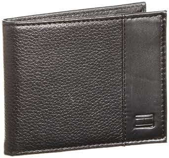 Tommy Hilfiger Men's Bradford Passcase Wallet, Black, No Size