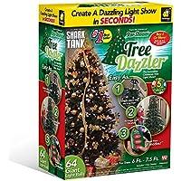 Tree Dazzler 7.5 ft. 64-Light LED Multicolor Light Set