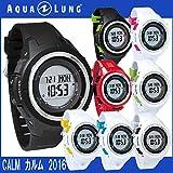 AQUA LUNG アクアラング ダイブコンピュータ カルム 腕時計 ダイビング (ブラック)