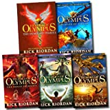 Rick Riordan Heroes of Olympus Collection 5 Books Set (The Lost Hero The Son of Neptune The Mark of Athena, The Demigod Diaries, The House of Hades)