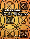 Download Indonesian Batik Designs (Dover Pictorial Archives)