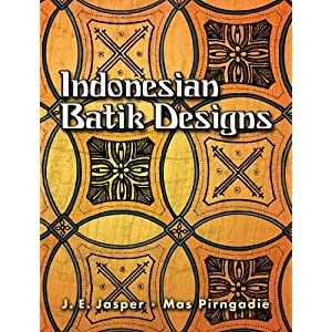 Indonesian Batik Designs (Dover Pictorial Archives)