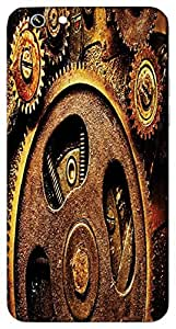 Timpax Protective Armour Case Cover lightweight construction easily slides in and out of pockets. Multicolour Printed Design : A clock machine.Exclusively Design For : Apple iPhone-6