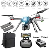 ElementDigital MJX Bugs B3 Pro GPS FPV RC Drone with C6000 Sport Camera, 1080P WiFi HD Camera RC Quadcopter for Beginners, Follow Me, One Key Return Home, Bonus Battery, Backpack for B3 Pro (Color: Mjx B3 Pro + 2 Battery + Backpack)