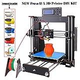 3D Printer I3 High Precision Large Size Desktop 3D Printer Kit Reprap Prusa I3 DIY Self-Assembly LCD Screen PLA/ABS Filament 1.75MM DIY 3D Printer 200x200x180 (Color: I3-3D Printers)
