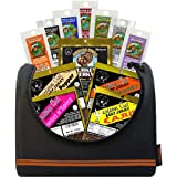 Buffalo Bills 1.75oz Beef Jerky Basketball 6-Pack Gift Cooler (filled with 12 assorted jerky packs)