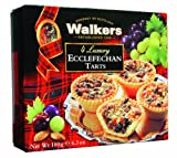 Walkers Luxury Ecclefechan Tarts 180 g (Pack of 6)