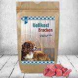 Bild: Vollkost Brocken preisgünstiges gutes Trockenfutter die superleckere Vollnahrung für Jederhund viel leckeres Fleisch Getreide und jede Menge Vitamine und Mineralien