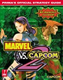 img - for Marvel vs. Capcom 2: Prima's Official Strategy Guide book / textbook / text book