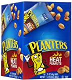 Planters Heat Peanuts, 1.75 oz Tubes, 18 ct
