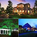 Accmor Christmas Laser Projector Lights - Remote Dynamic Outdoor Christmas Decorations Ornaments with Timer - Red and Green Landscape Lighting for Patio, Party, Garden (Controlled by Control Box /APP)