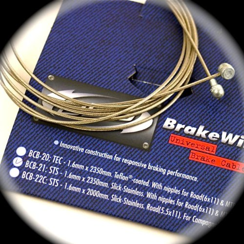 Universal Slick MTB Road BIke Brake Inner Wire Cable X2 - BCB-21-X2