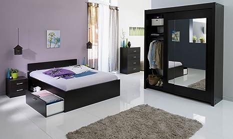 Schlafzimmerset Schlafzimmer wenge 4-teilig Infena