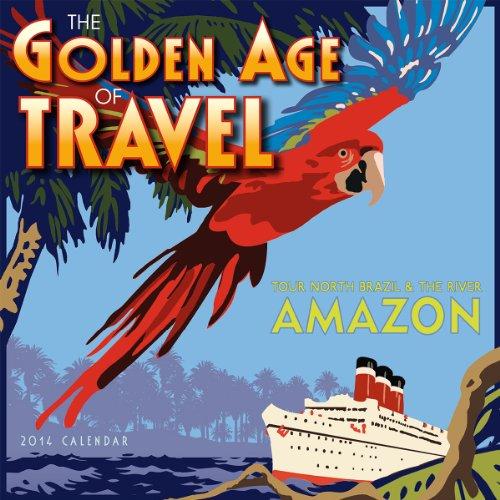 Golden Age of Travel 2014 Mini (calendar)