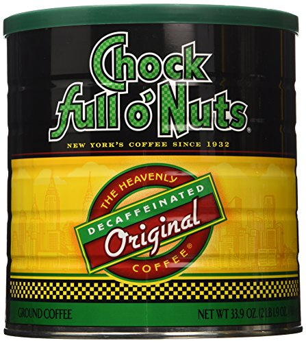 Chock Full O Nuts Decaffeinated Coffee, 33.9 Ounce (Chock Full O Nuts Decaf compare prices)