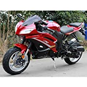 Motorcycle Single cylinder 4 stroke air cool 50 cc bike (Red)