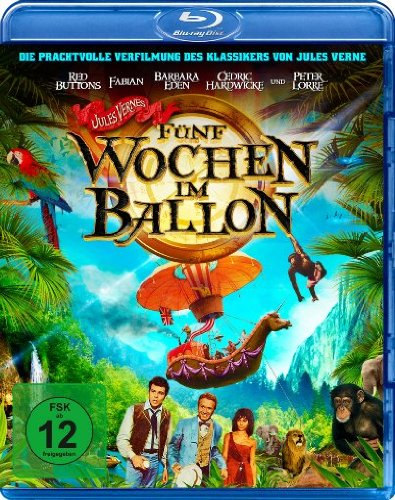 Fünf Wochen im Ballon [Blu-ray]