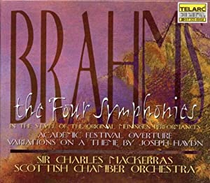 The Four Symphonies, in the style of the Meiningen performances