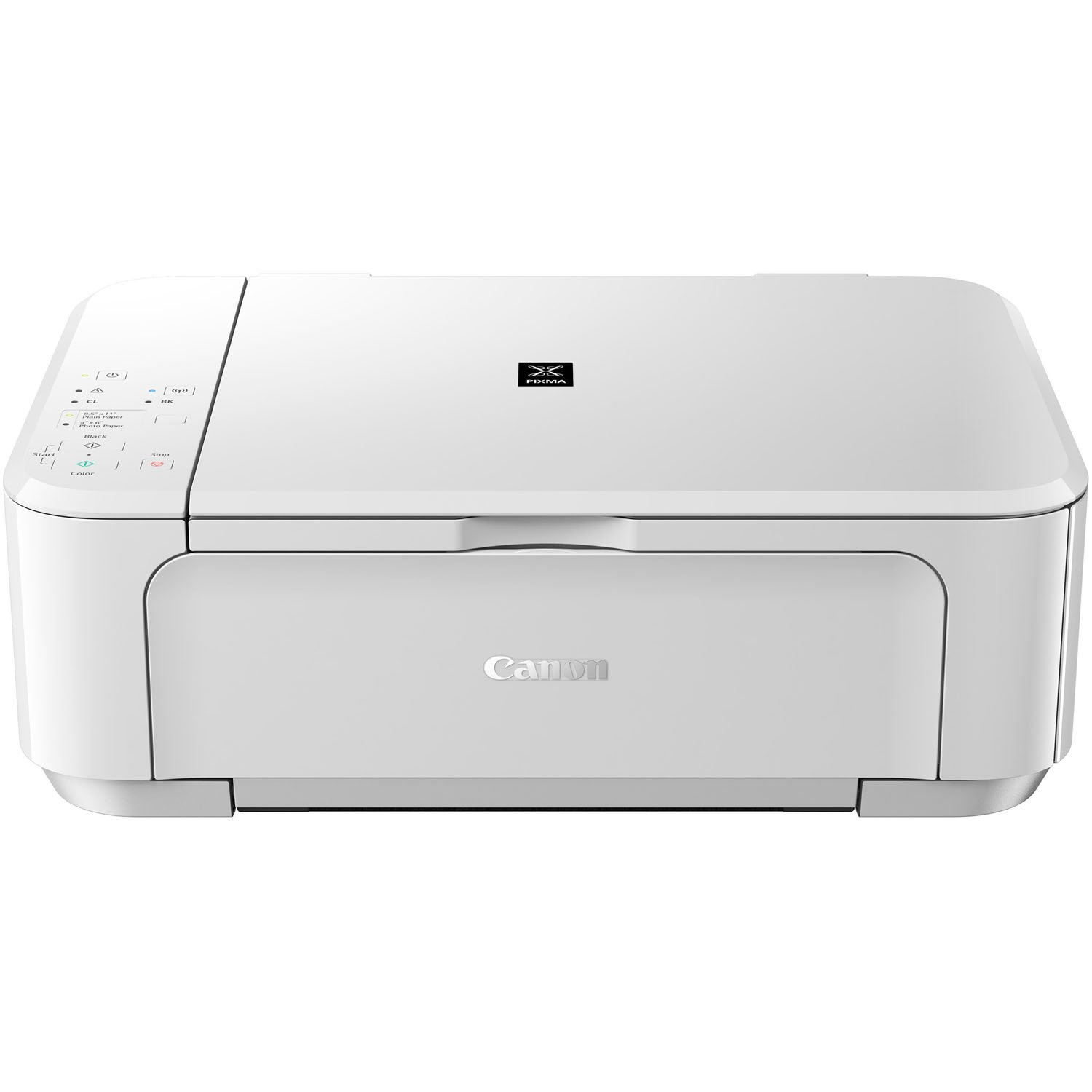 Canon PIXMA MG3520 WH Wireless Color Photo Printer with Scanner and Copier