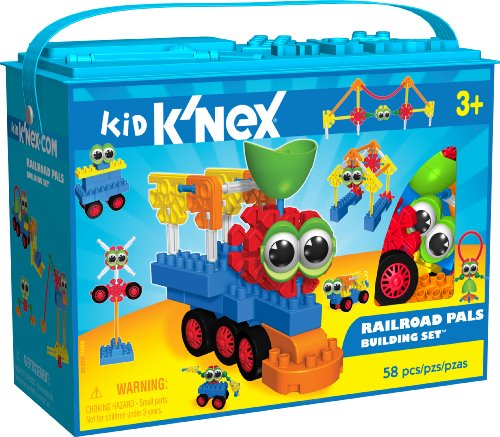 K'Nex Kid - Railroad Pals Building Set