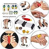 Akupressur Doppel Fuß-Massagegerät mit Stachelwalzen Relief Stress